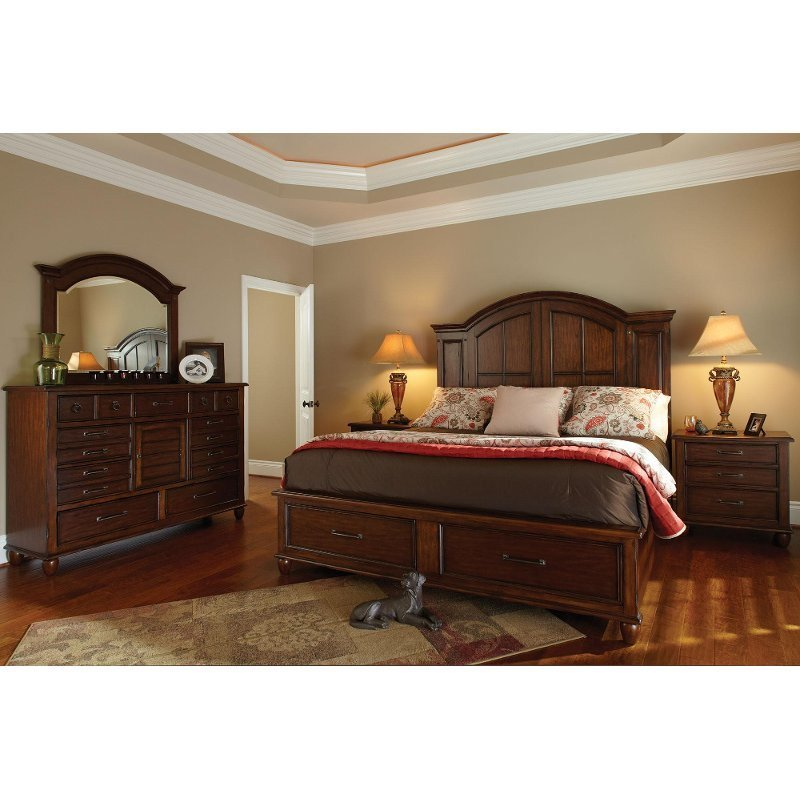 Best Carolina Preserves 6 Piece Queen Bedroom Set Rcwilley With Pictures