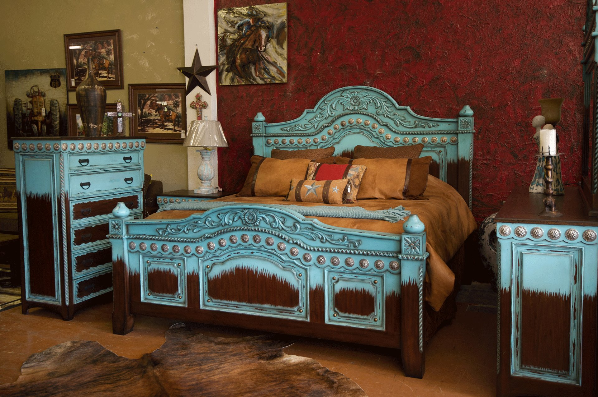 Best Home Santa Fe Terra Western Furniture With Pictures