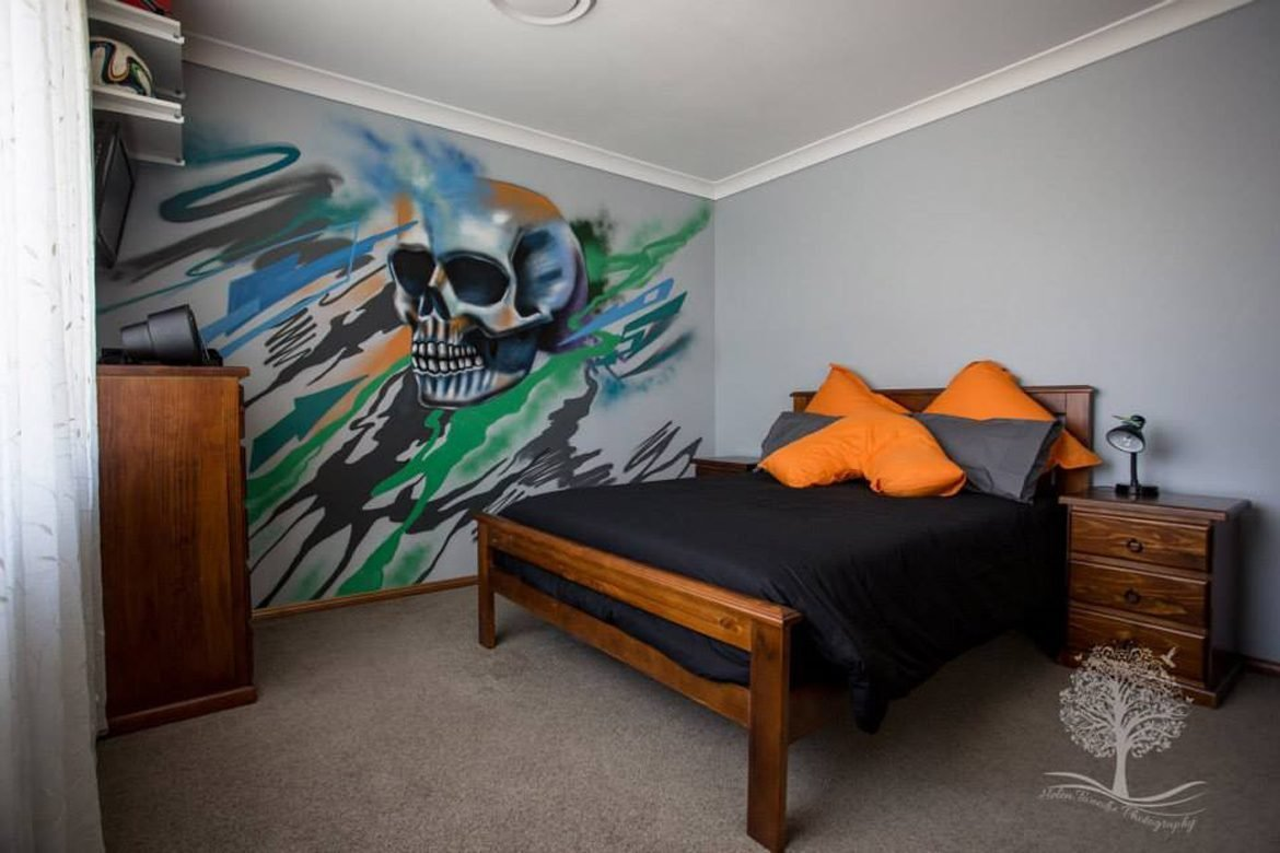 Best Kids Bedroom Murals Professional Graffiti Mural Artist With Pictures
