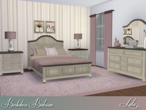 Best Berkshire Bedroom Set Sims 4 Custom Content With Pictures