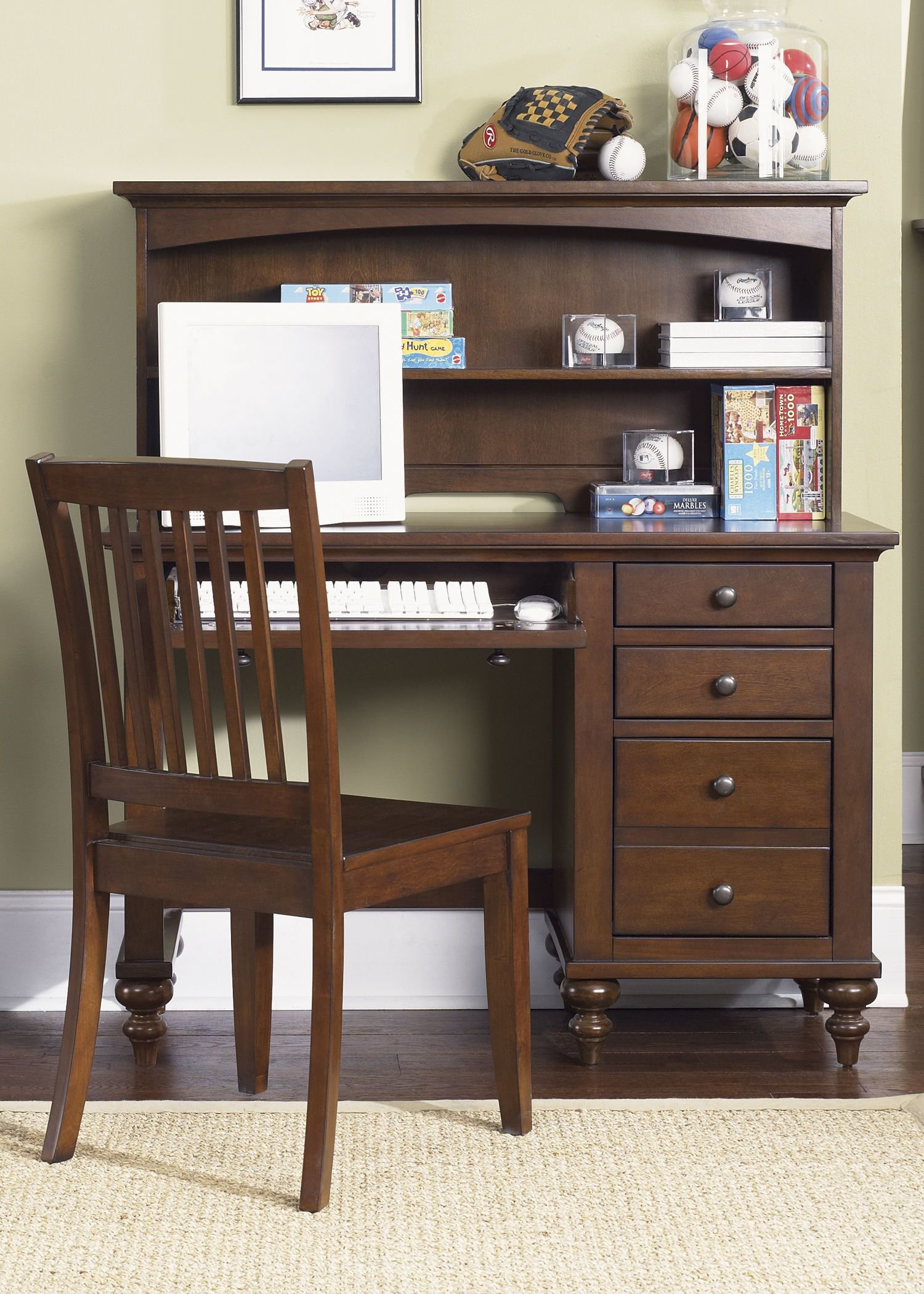 Best Liberty Furniture Youth Bedroom Student Desk 277 Ybr Sd With Pictures