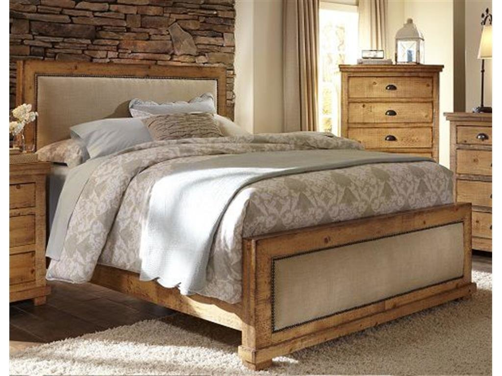Best Progressive Furniture Bedroom King Upholstered Headboard With Pictures