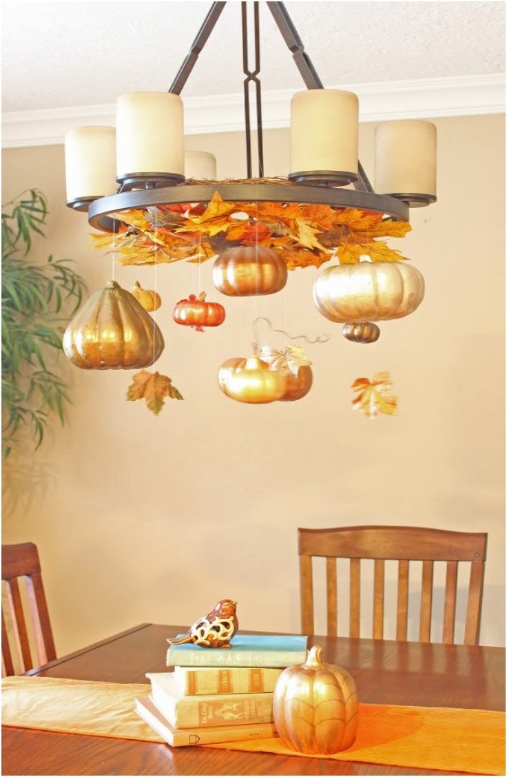 Best Top 10 Diy Fall Chandelier Decorations Top Inspired With Pictures