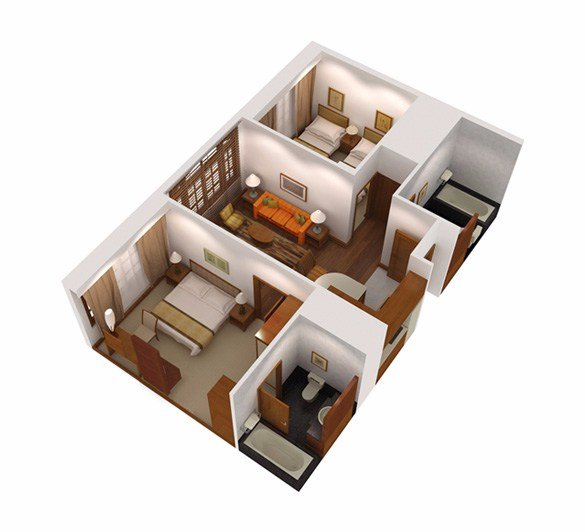 Best 2 Bedroom Superior Apartment Serviced Apartments In With Pictures