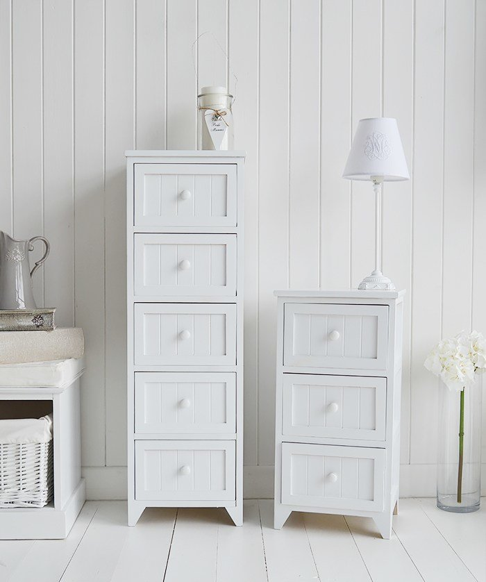 Best Maine White Bedside Table New England White Bedroom Furniture With Pictures