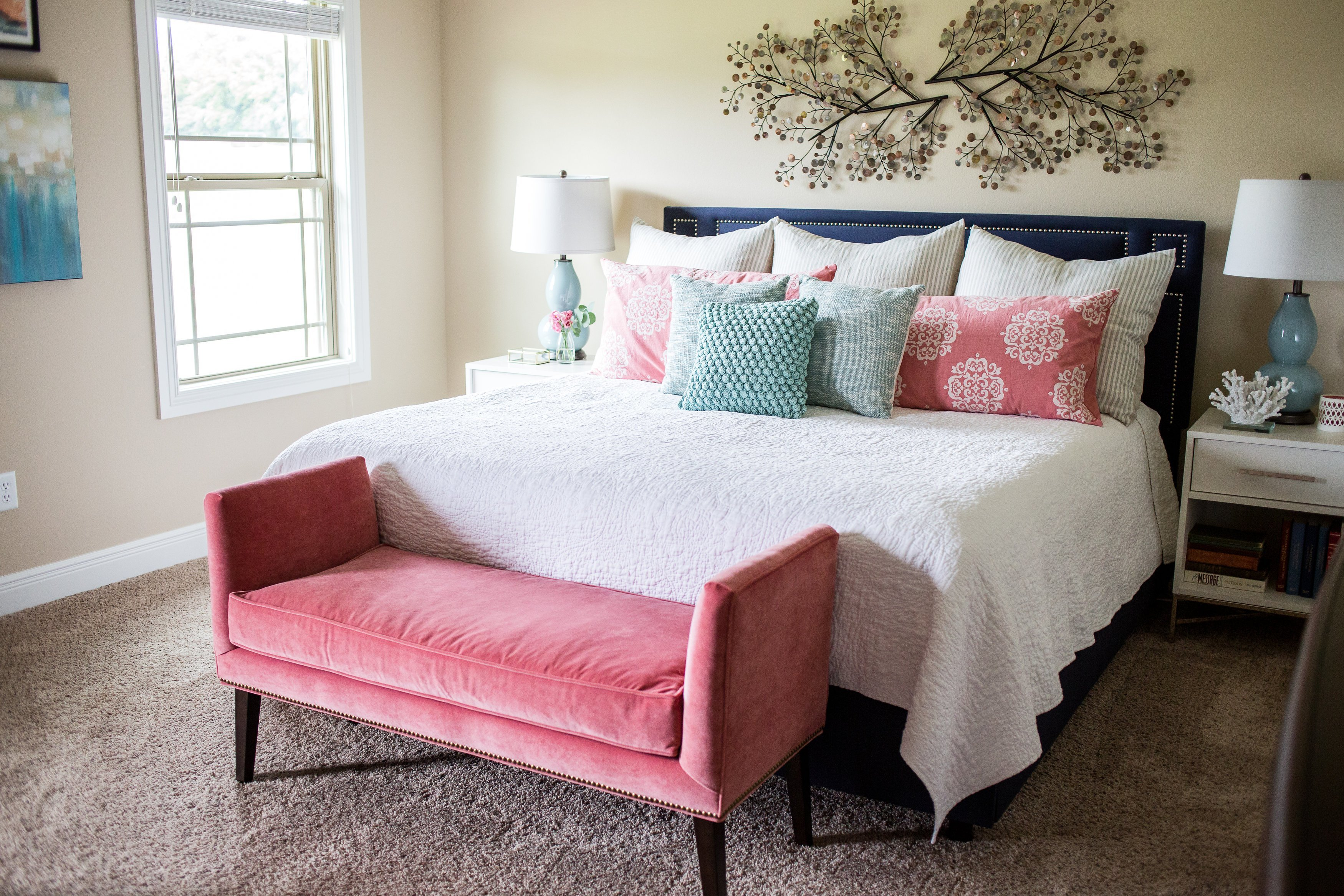 Best 4 Tips For A Relaxing Bedroom And A Client Project With Pictures