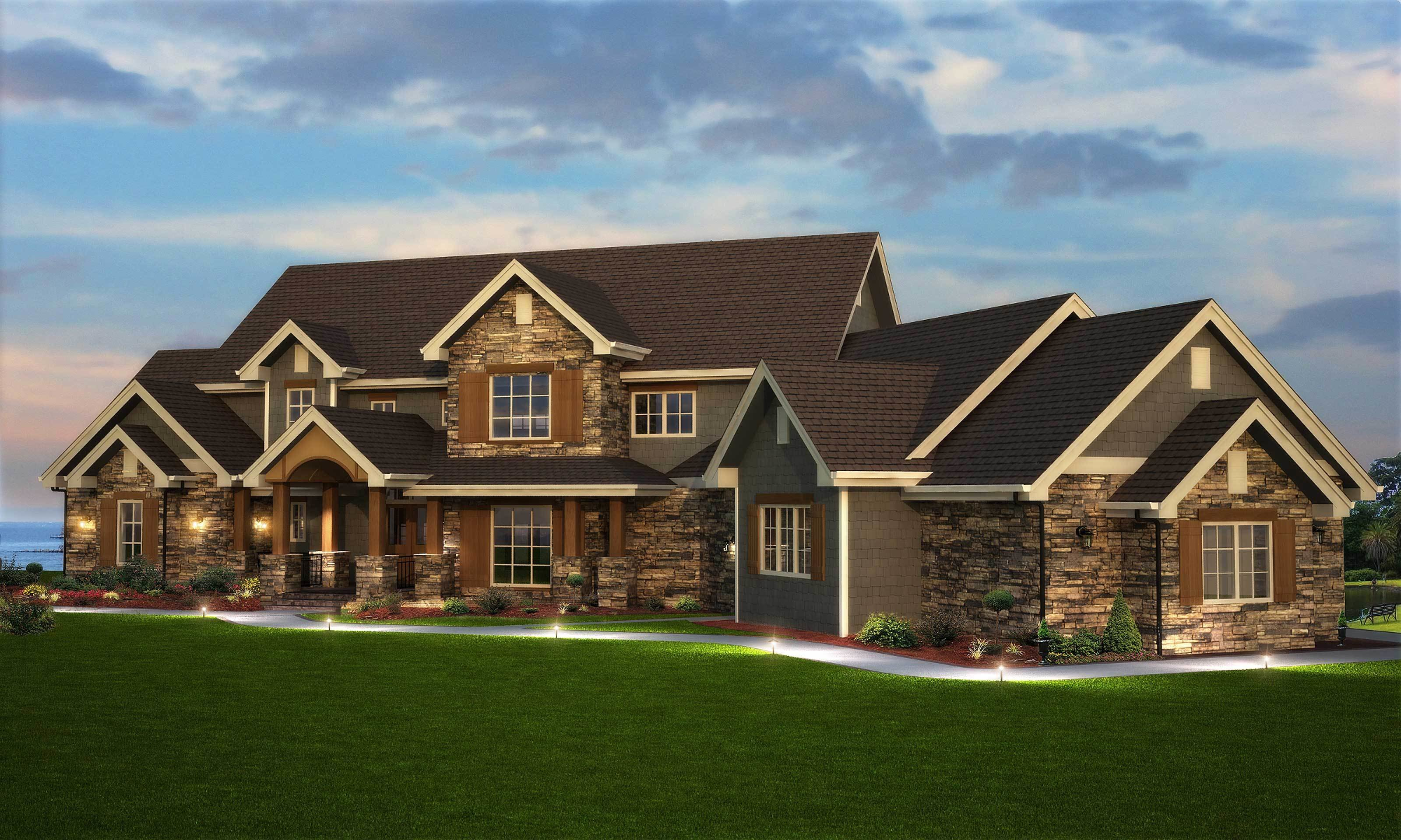 Best Traditional Style Home Floor Plan 161 1003 Six Bedrooms With Pictures