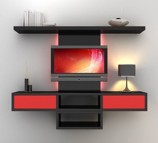 Best 55 Cool Entertainment Wall Units For Bedroom With Pictures