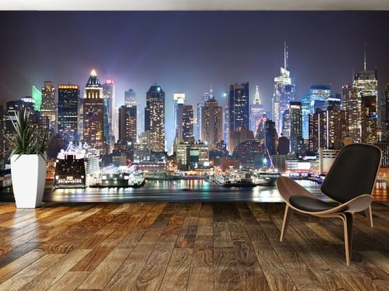 Best Download New York City Skyline Wallpaper For Bedroom Gallery With Pictures