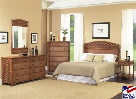 Best Rattan And Wicker Bedroom Furniture Sets Wicker Dresser And Nightstand With Pictures