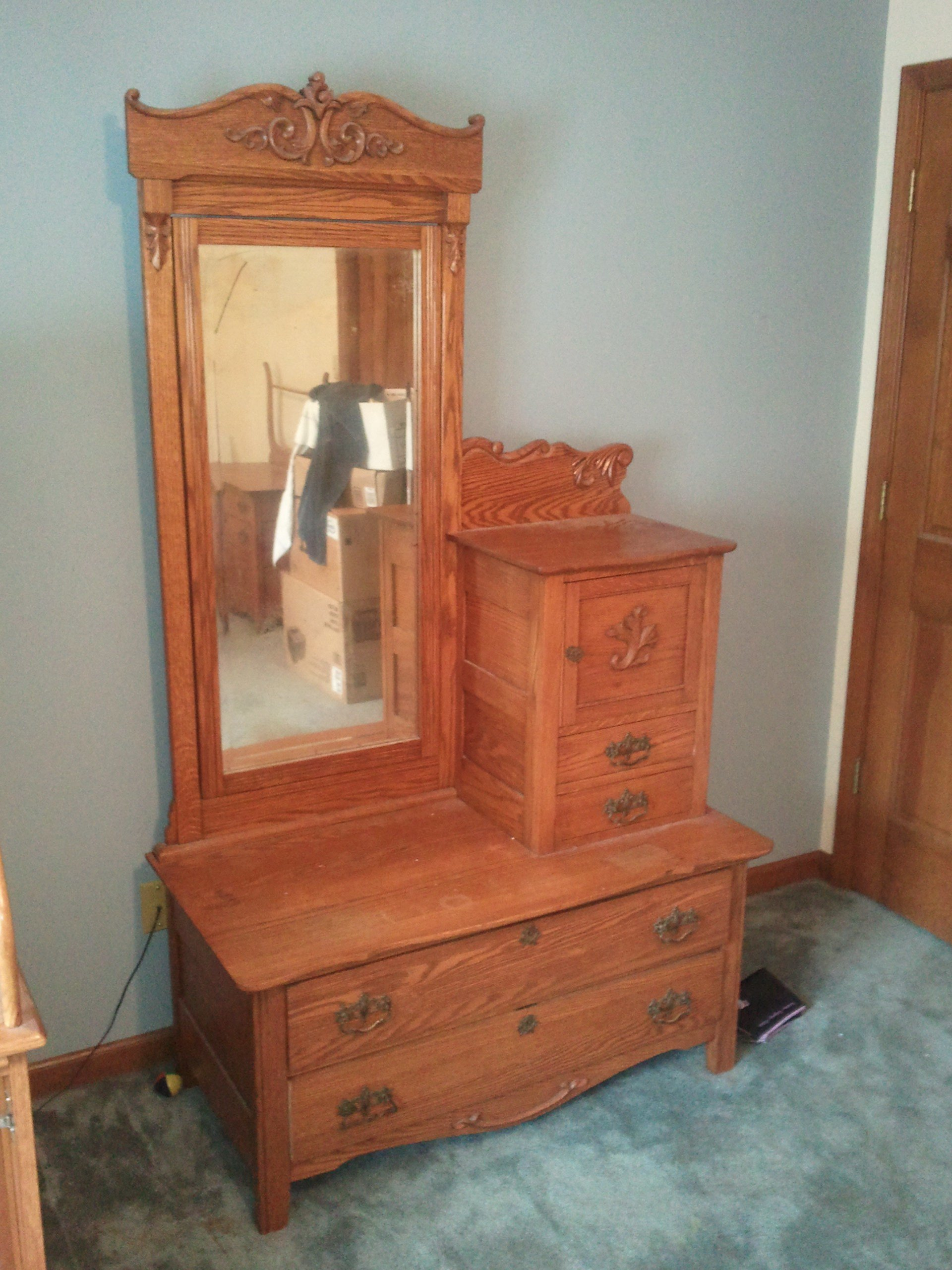 Best 3 Piece Antique Bedroom Set For Sale Antiques Com With Pictures