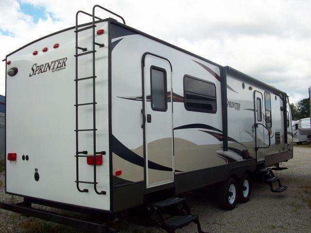 Best Used 2012 Keystone Sprinter 300Kbs Rear Bedroom With 2 With Pictures