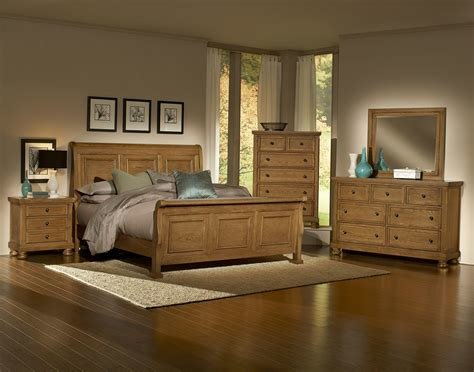 Best Vaughan Bassett Reflections 550 Oak Bedroom Group With Pictures