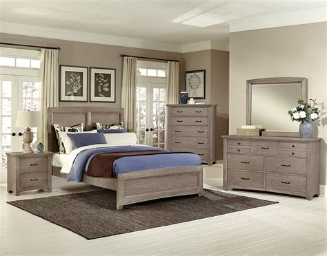 Best Vaughan Bassett Transitions Driftwood Oak Bb61 Bedroom Group With Pictures