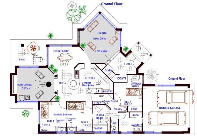 Best 4 Bedroom Plus Office Kit Home Designs Australian Kit With Pictures
