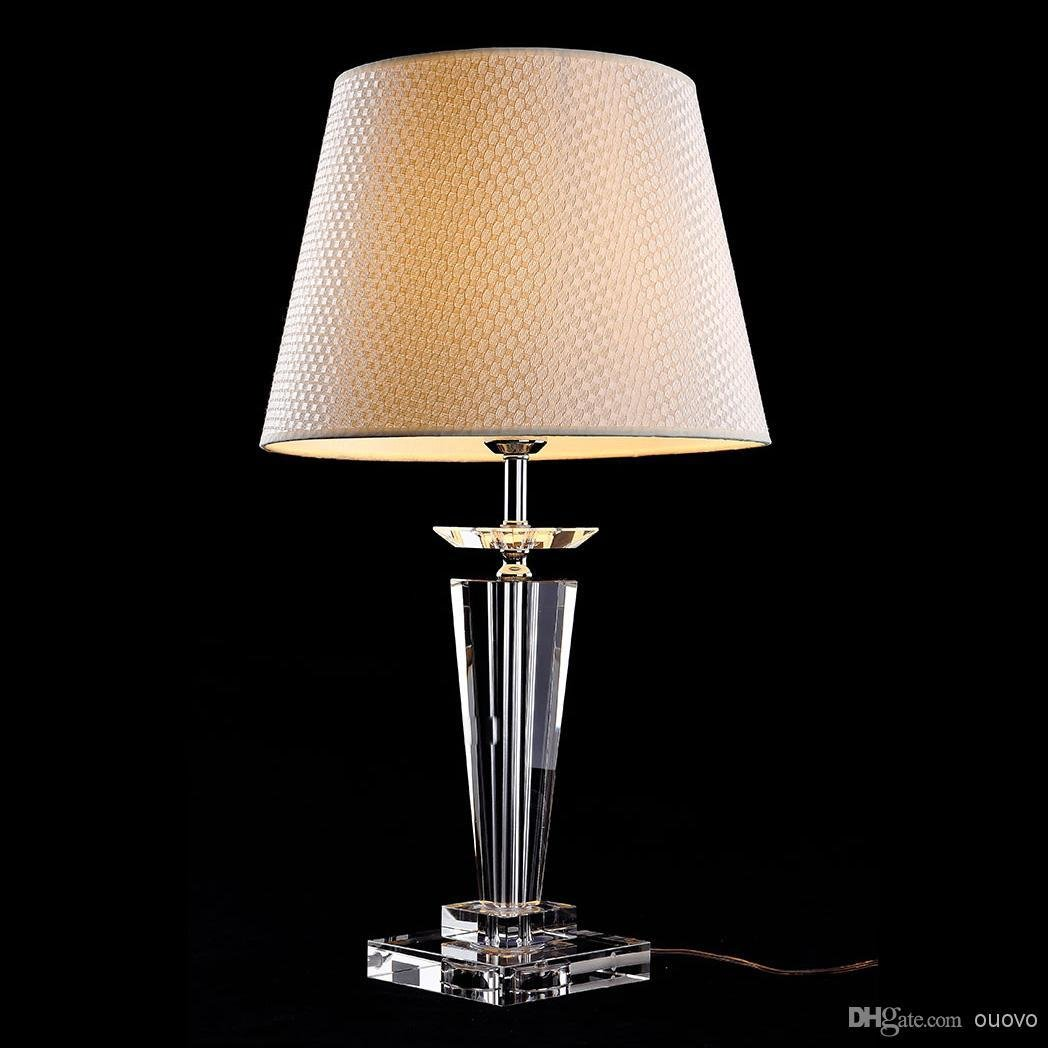 Best Incorporate Crystal Table Lamps For Bedroom – Blogbeen With Pictures