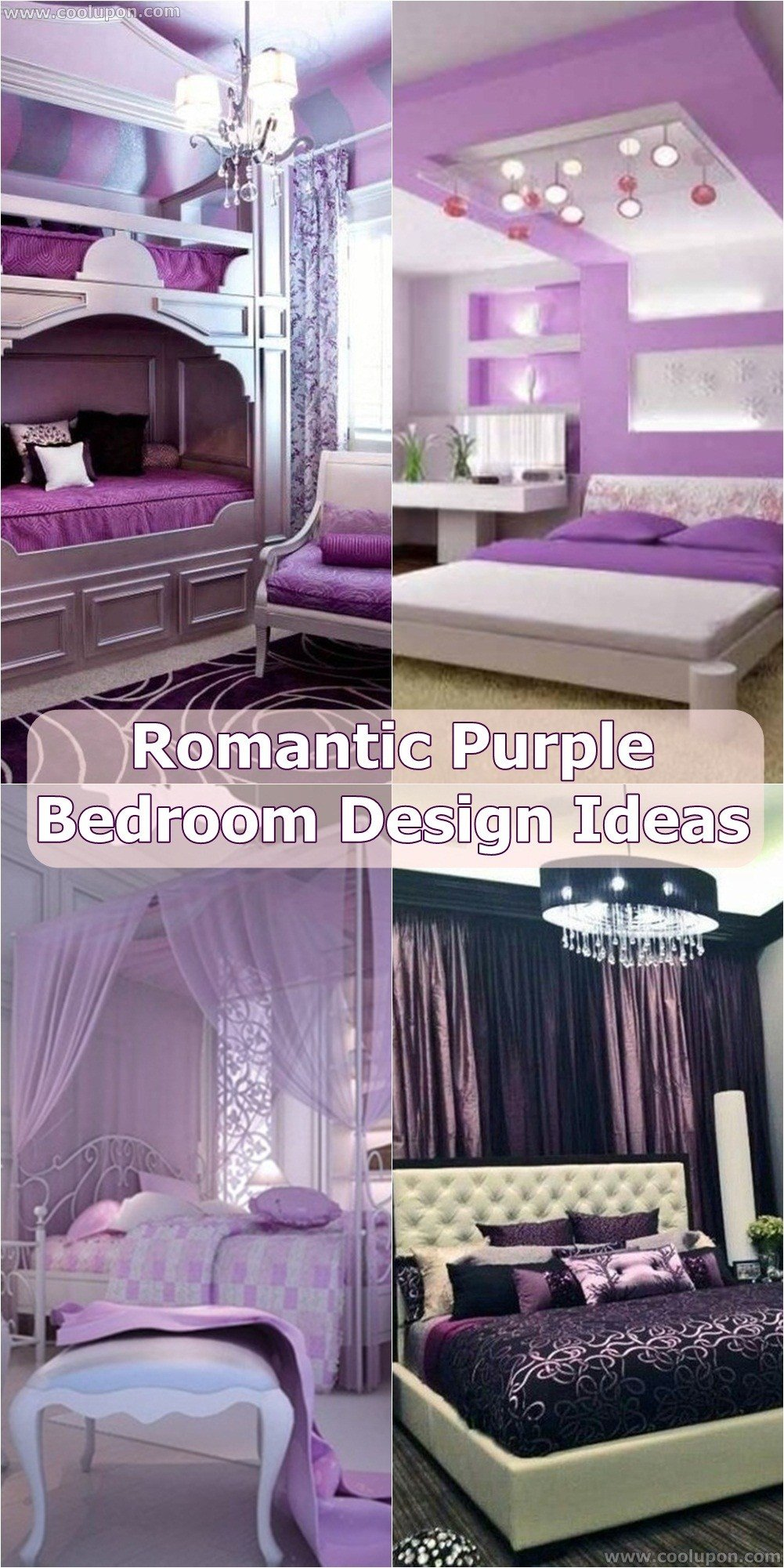 Best 25 Brilliant Romantic Purple Bedroom Design Ideas Coolupon With Pictures