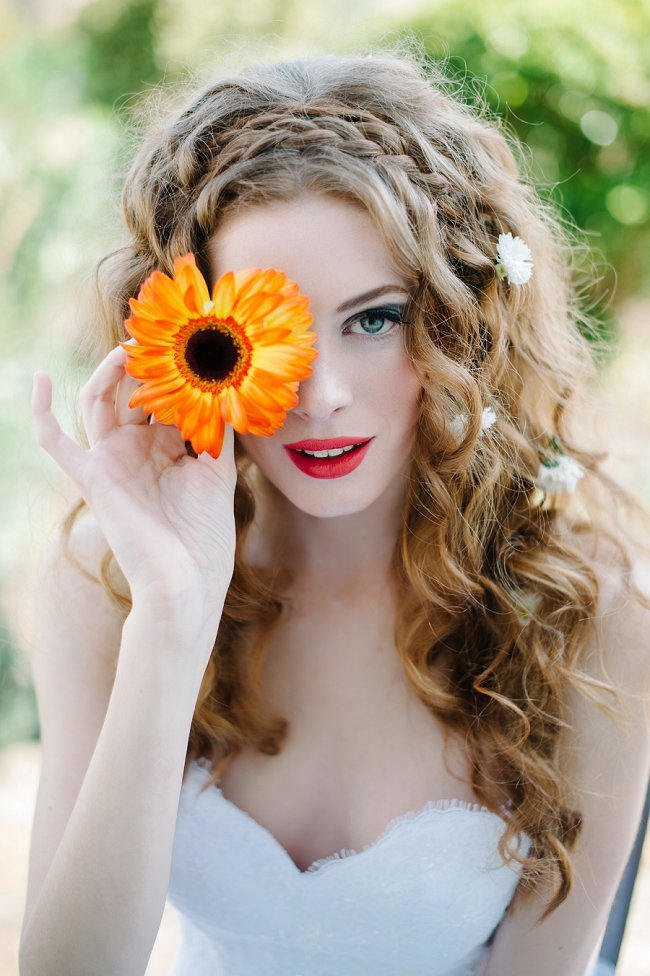 Free Whimsical Wedding Hairstyle Ideas For Long Hair Wallpaper