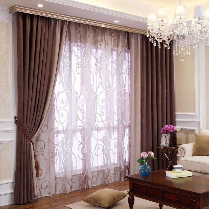 Best Bedroom Or Living Room Chenille Blackout Curtains Drapes With Pictures