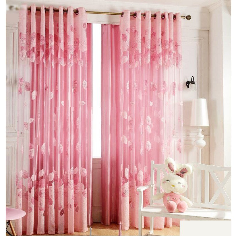 Best Romantic Pink Sheer Curtains Cheap For Girls Room With Pictures