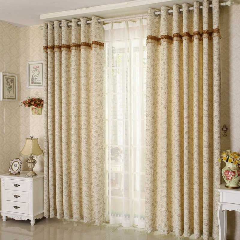 Best Rustic Country Lace Curtains Flroal For Bedroom With Pictures