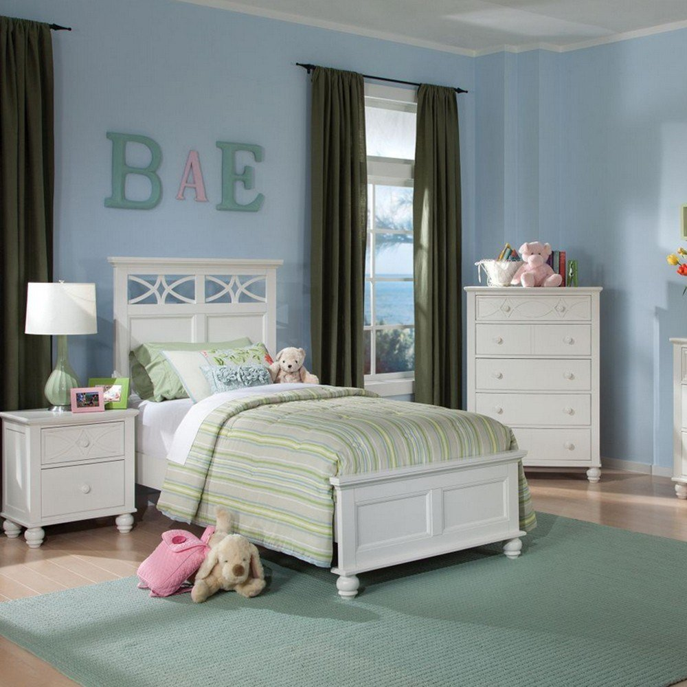 Best Dreamfurniture Com 2119Tw Sanibel Bedroom Set White With Pictures