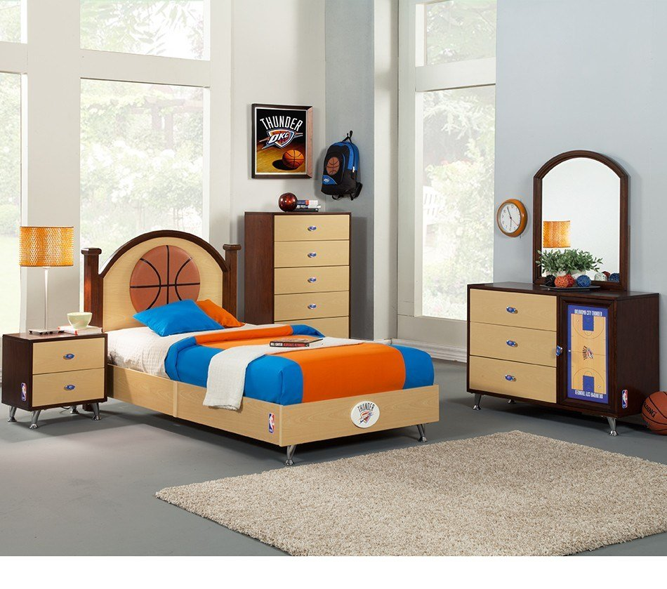 Best Dreamfurniture Com Nba Basketball Oklahoma Thunder With Pictures