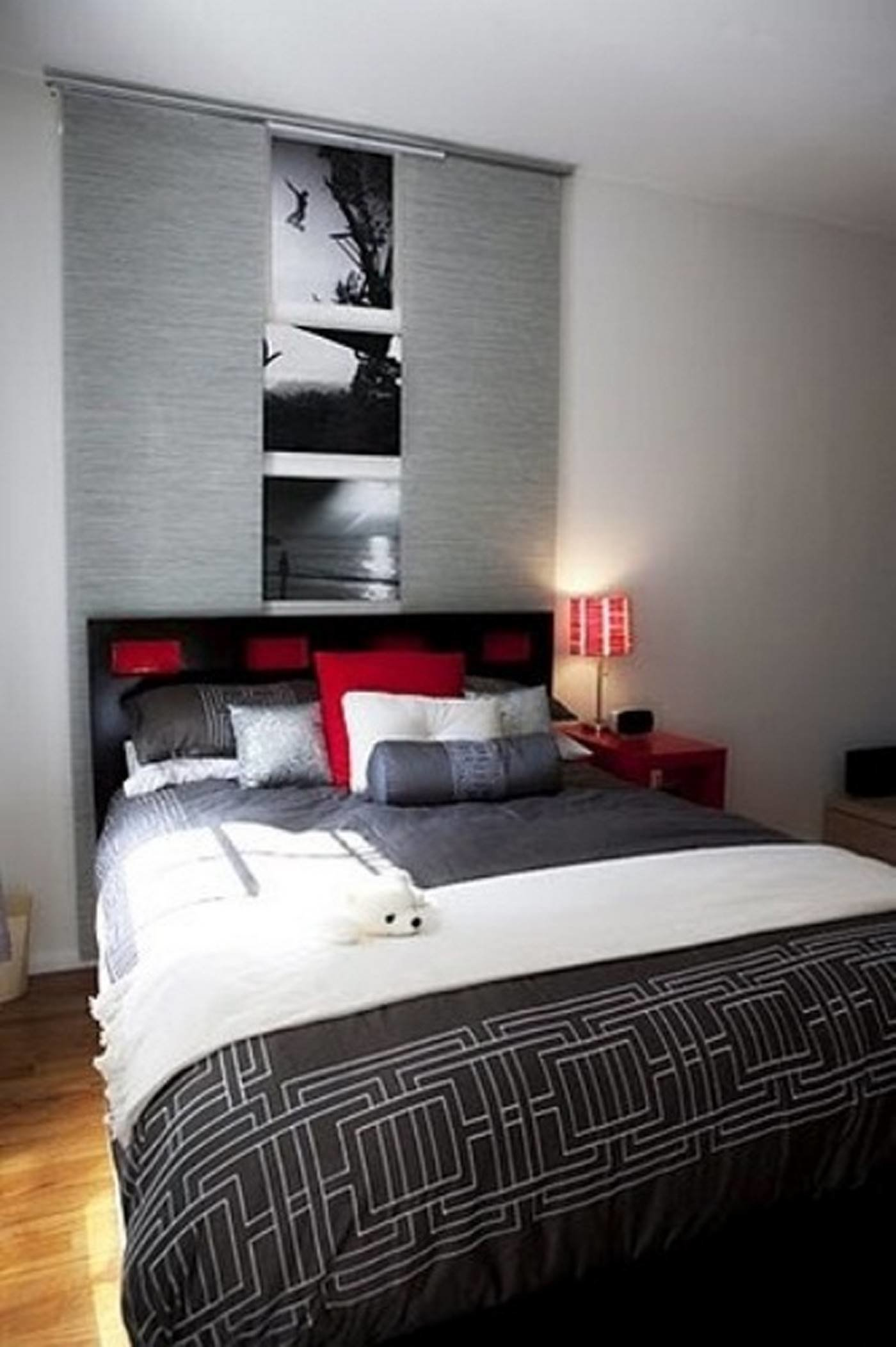 Best Awesome Color Blend In Modern Bedroom With Grey Cover And With Pictures