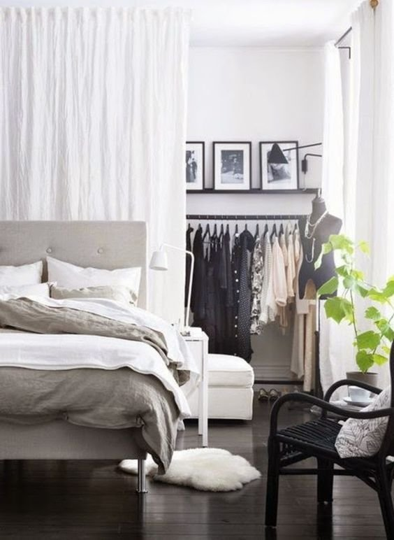 Best Picture Of Create Your Own Closet Space Separating A With Pictures
