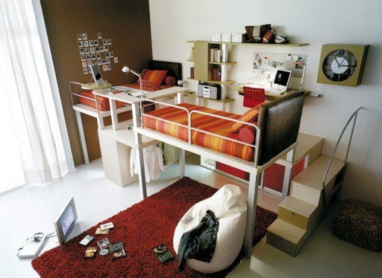 Best Clever Space Saving Ideas For Small Room Layouts Digsdigs With Pictures