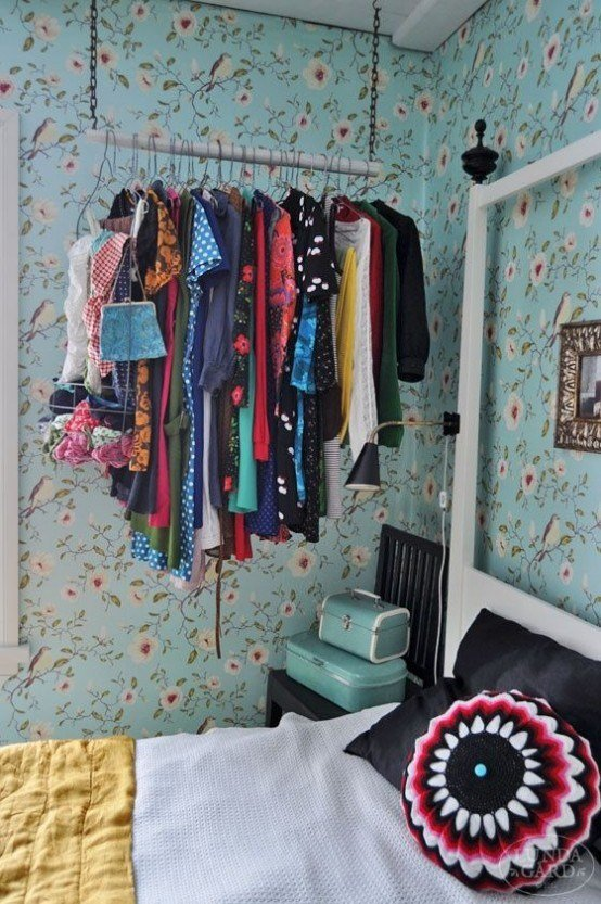 Best 18 Creative Clothes Storage Solutions For Small Spaces With Pictures