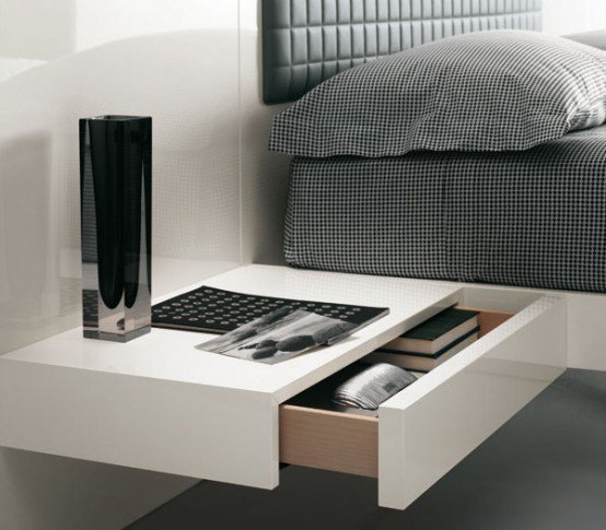 Best Futuristic Bedroom Set With Suspended Bed Aladino Up From Alf Digsdigs With Pictures