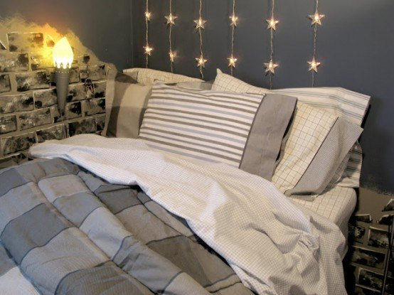 Best How To Use String Lights For Your Bedroom 32 Ideas Digsdigs With Pictures