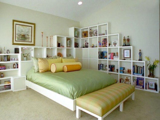 Best 44 Smart Bedroom Storage Ideas Digsdigs With Pictures