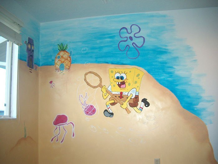 Best Spongebob Squarepants Themed Room Design Home Decorating With Pictures