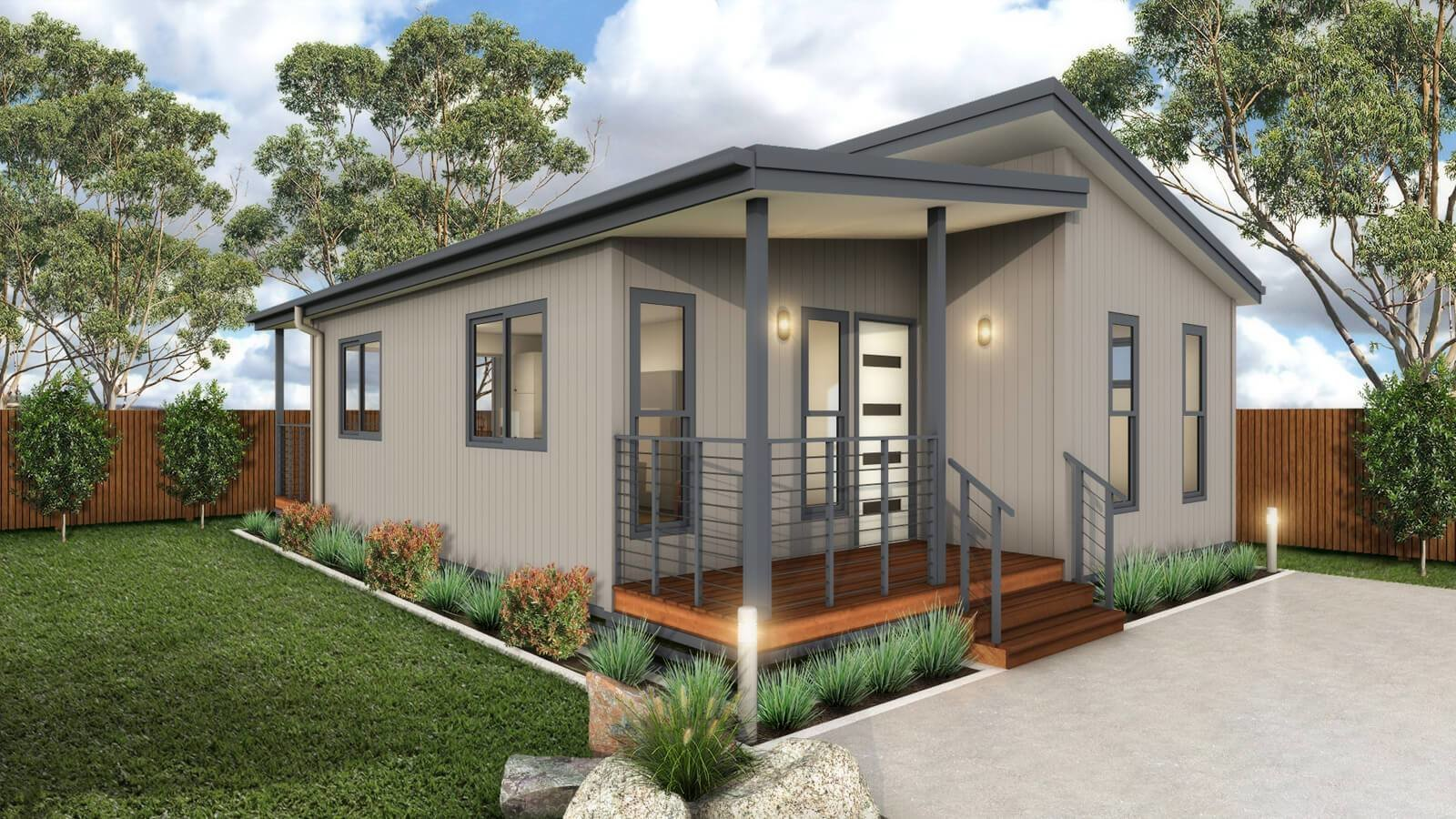 Best The Bribie Granny Flat Park Cabin Residential Home With Pictures