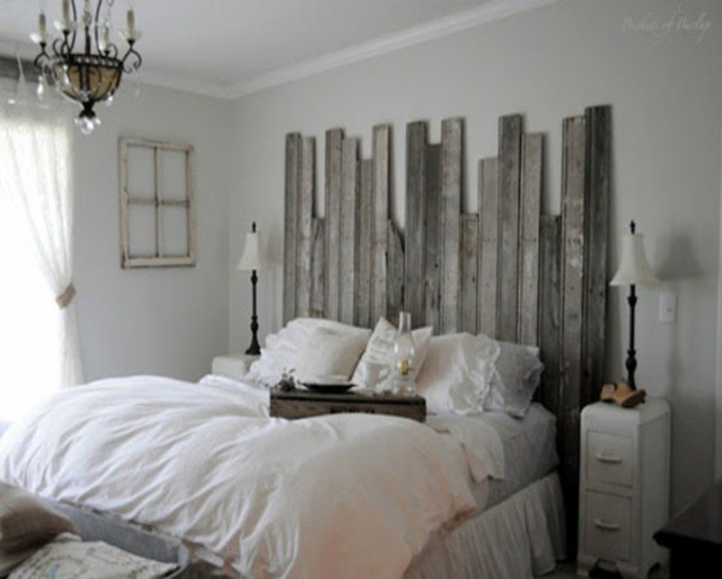 Best Ideas To Decorate My Bedroom Recycled Wood Headboard Do With Pictures