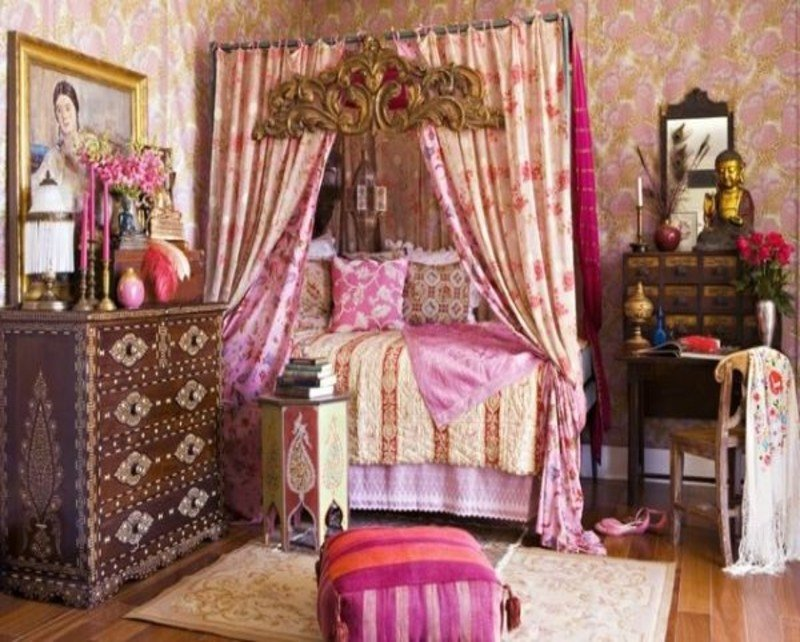 Best Bedrooms Styles Romantic Bohemian Bedroom Eclectic With Pictures
