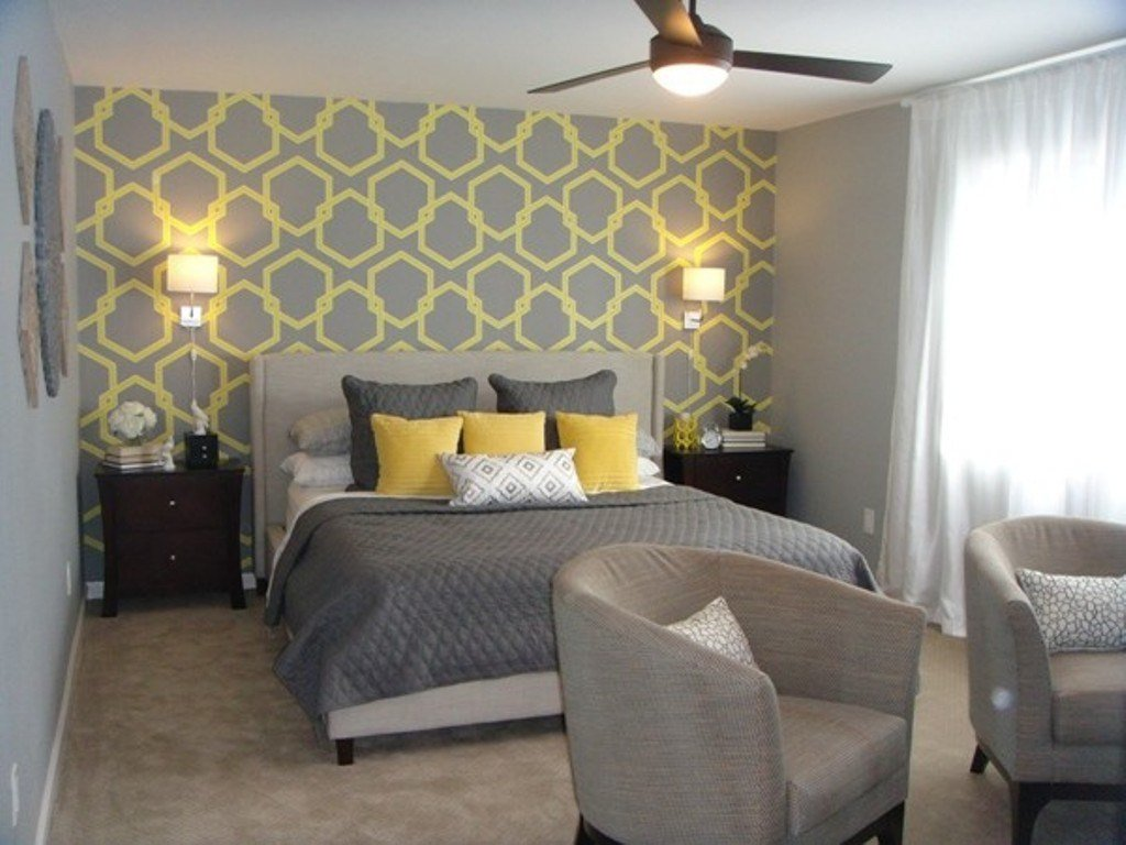 Best Grey Bedroom Wallpaper Dark Grey Bedroom Designs Popular With Pictures