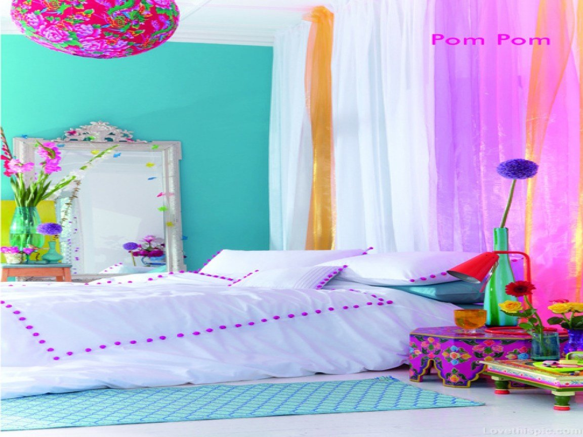 Best Cute Decorations For Bedrooms Bright Neon Colors Bedroom With Pictures