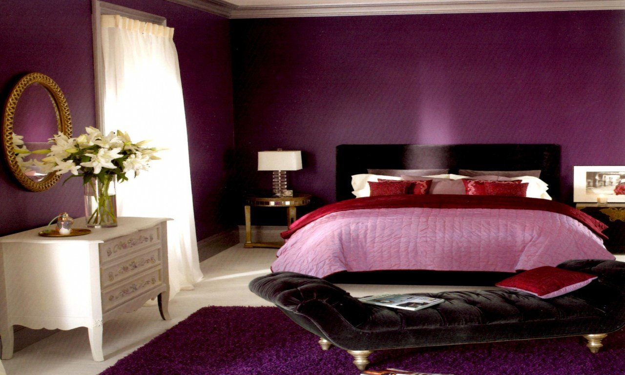 Best Color Combinations For Furniture Black And Purple Bedroom Paint Color Ideas Red And Black With Pictures