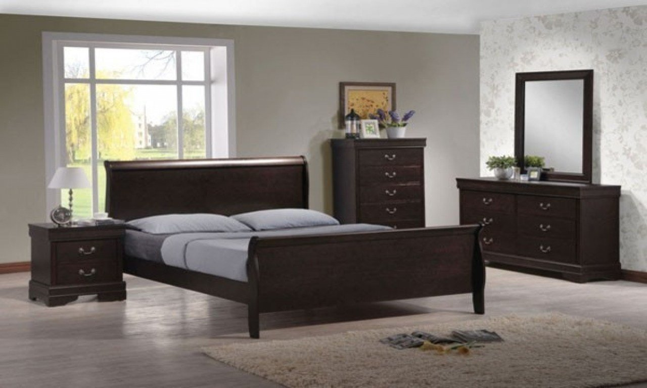 Best Dark Wood Bedroom Furniture Sets Dark Brown Furniture With Pictures
