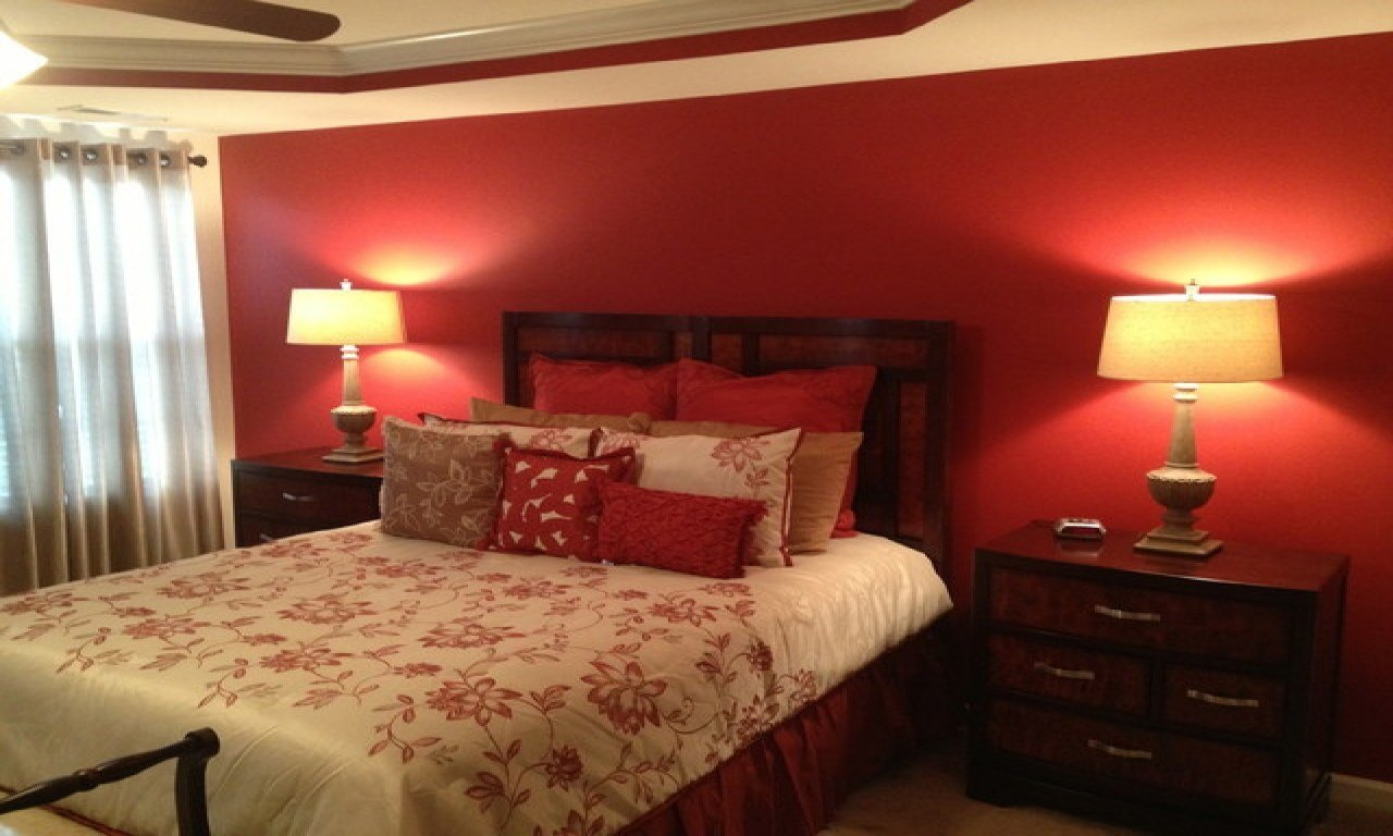 Best Red Accent Kitchen Master Bedroom With Accent Wall Cozy With Pictures