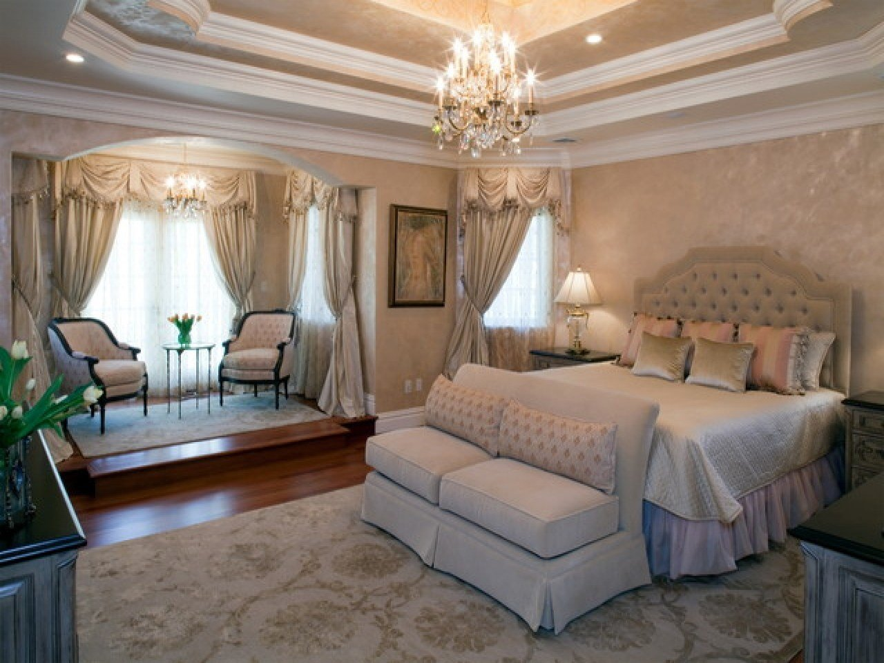 Best Master Bedrooms Romantic Luxury Master Bedroom Really With Pictures