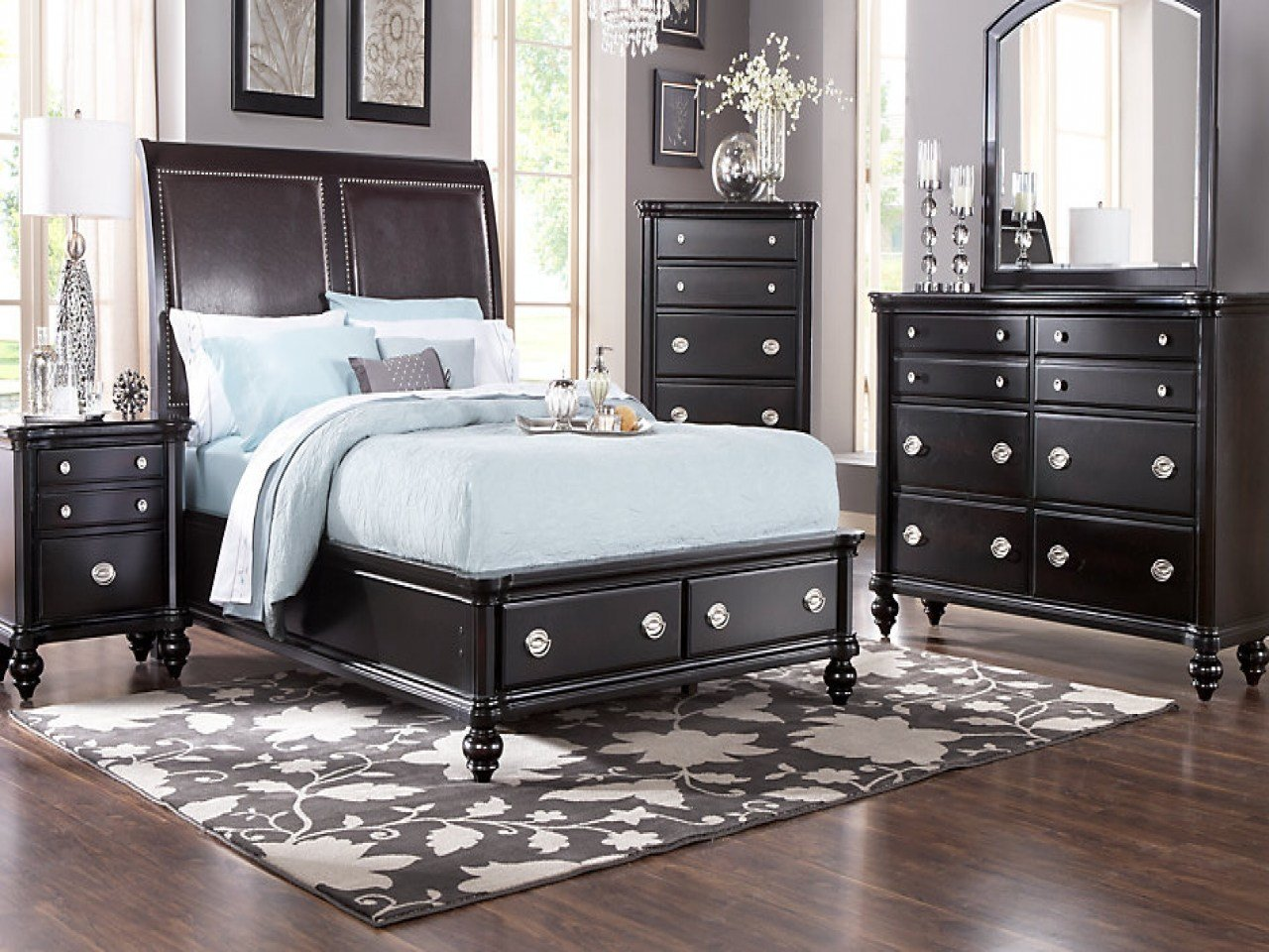 Best Pictures Of Bedroom Sets Affordable Sleigh Queen Bedroom With Pictures