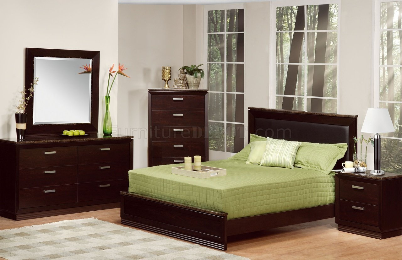 Best Deep Merlot Contemporary Bedroom W Faux Marble Accents With Pictures
