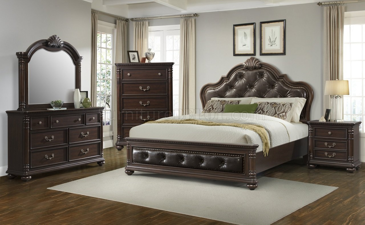 Best Classic Bedroom Cl600 In Espresso Finish By Elements With Pictures