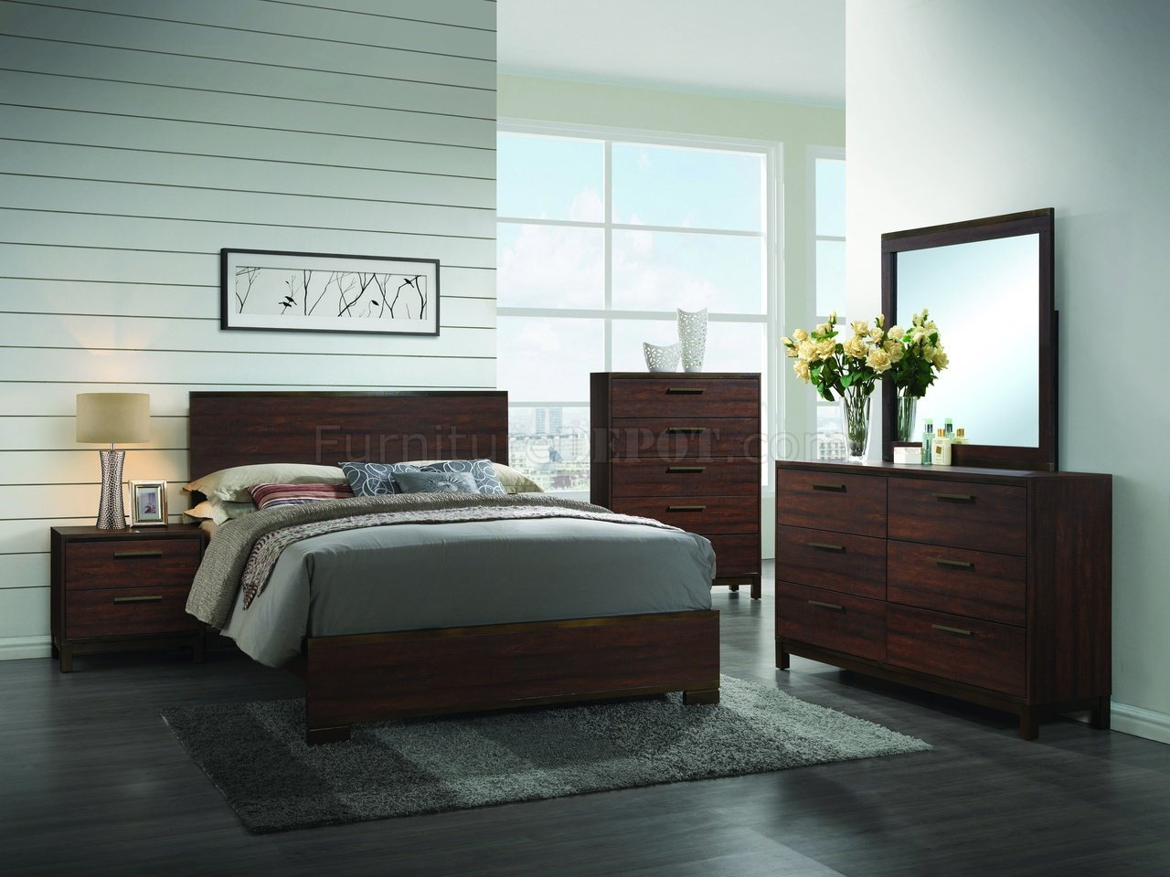 Best Edmonton 204351 Bedroom 5Pc Set By Coaster W Options With Pictures