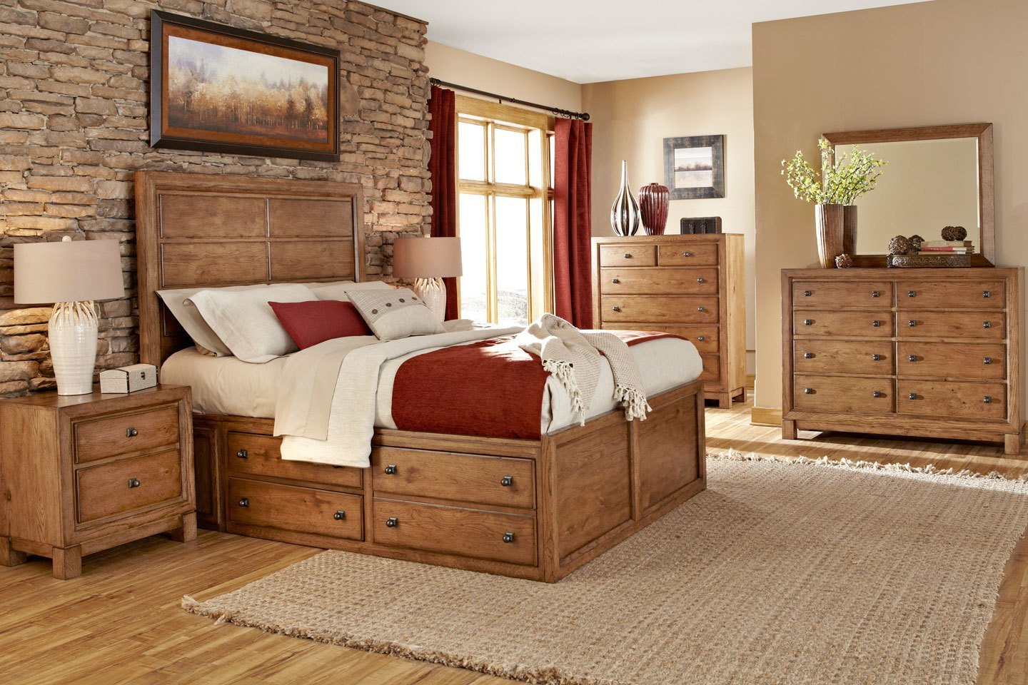 Best Bedroom With Wooden Furniture Wholesale Solid Wood With Pictures