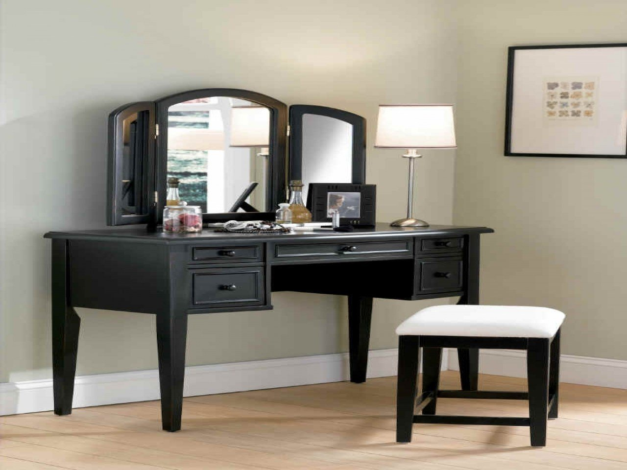 Best Black Vanity Mirrors Bedroom Vanity With Mirror Makeup With Pictures